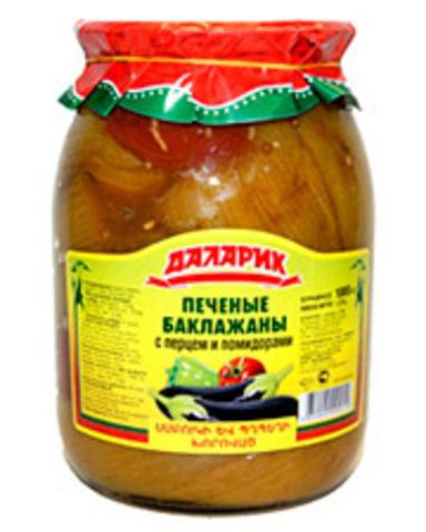 Баклажаны печеные с перцем и помидорами Даларик, 1000г