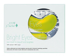 "Набор восстанавливающих масок для глаз ""Сияние"", 100% Pure"