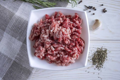 Фарш из свинины и говядины