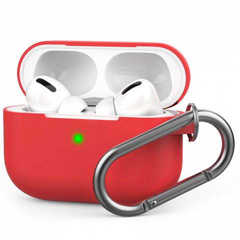 Силиконовый чехол для Apple AirPods Pro (Красный) Red