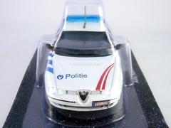 Alfa Romeo 156 Police Belgium 1:43 DeAgostini World's Police Car #49