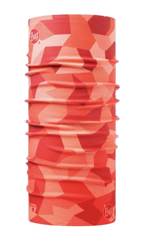 Бандана-труба тонкая зимняя Buff Thermonet Block Camo Flamingo Pink