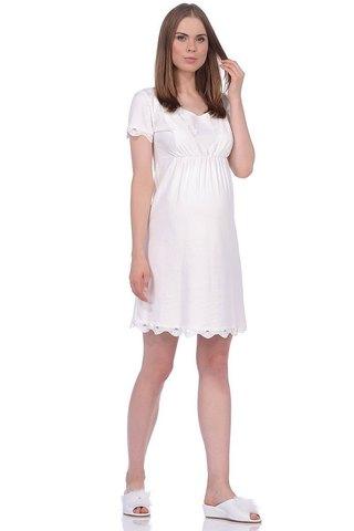 Сорочка 09911 молочный