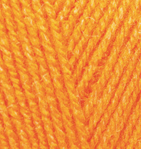 Alize Sekerim BEBE 336 оранжевый - фото
