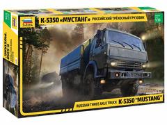 Российский трехосный грузовик К-5350 «Мустанг»