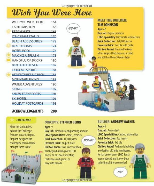 LEGO Play Book