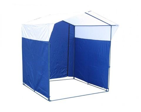 Торговая палатка Митек «Домик» 1,5 x 1,5 (каркас из трубы Ø 18 мм)