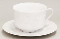 Чашка и блюдце для завтрака Philippe Deshoulieres Калифорния 460 мл