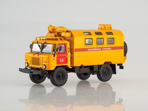 GAZ-66 K-66 Kung Emergency Service 1:43 AutoHistory