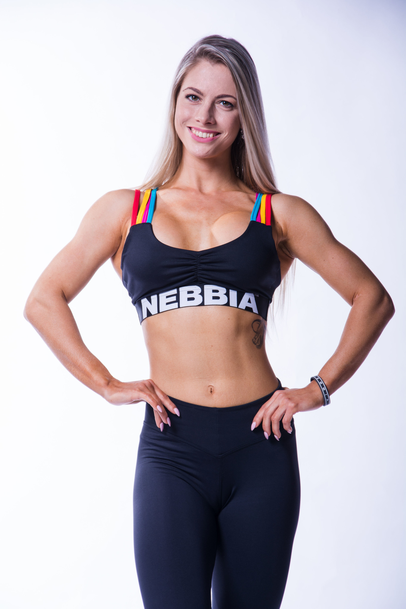 Женский топ Nebbia rainbow mini top 621