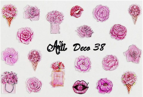 Слайдер Arti 3D Deco № 038