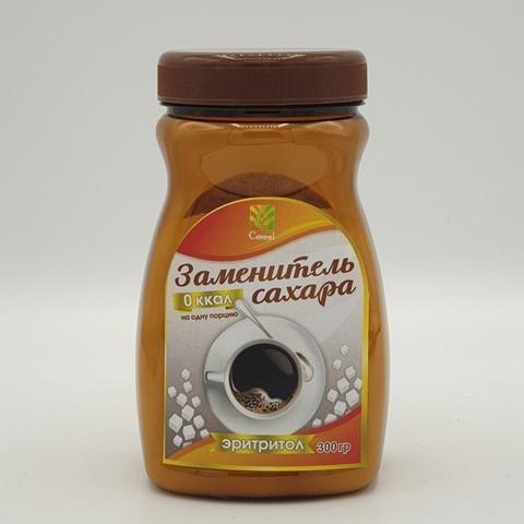Сахарозаменитель Эритритол CEREAL, 300 гр