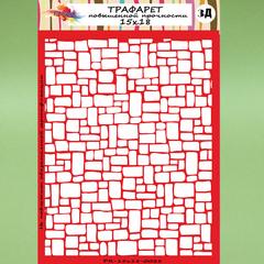 Трафарет 15х18-0028