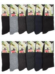 1076 носки мужские 41-47 (12шт), цветные
