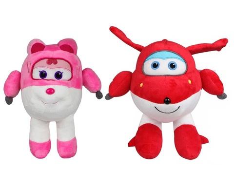 Мягкие игрушки Супер крылья Джетт и Дизи — Super Wings