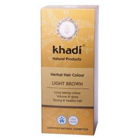 Хна для волос светло-коричневая Khadi Naturprodukte, 100 гр