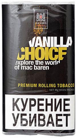 Табак M.B.сигарет. VANILLA CHOICE (p40gr)