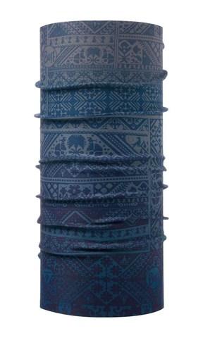 Бандана-труба тонкая зимняя Buff Thermonet Eskor Perfuse Blue