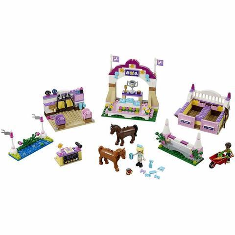 LEGO Friends: Конная выставка Хартлейк Сити 41057 — Heartlake Horse Show — Лего Френдз Друзья Подружки