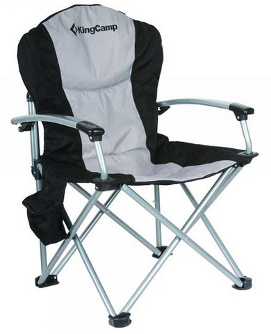 стул кемпинговый Kingcamp Deluxe Steel Arm Chair 3887/3987