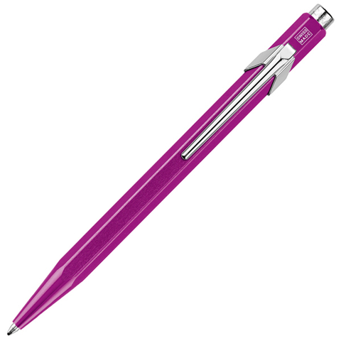 Carandache Office 849 Pop Line - Metallic Violet, шариковая ручка, M