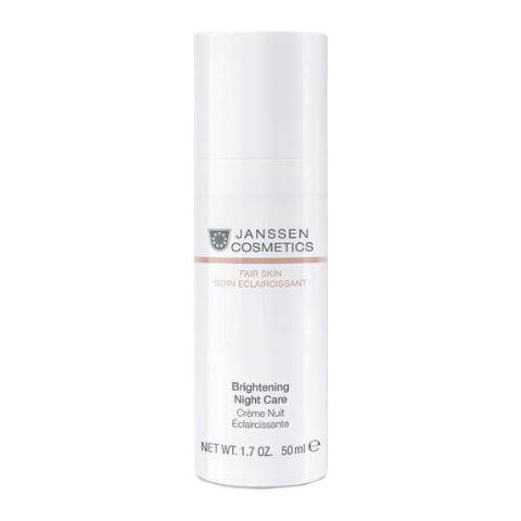 Осветляющий ночной крем / Brightening Night Care, Fair Skin, Janssen Cosmetics ,50 мл