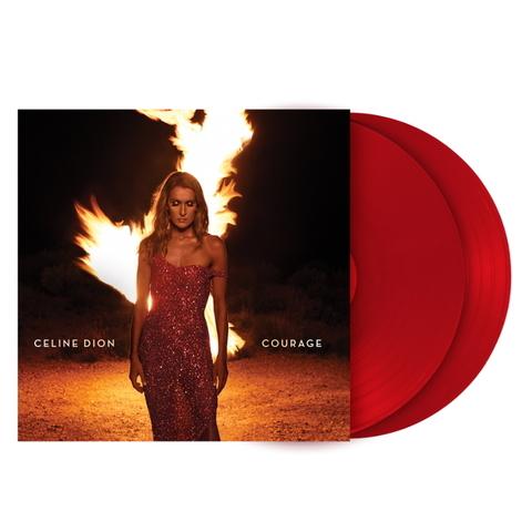 Celine Dion / Courage (Coloured Vinyl)(2LP)