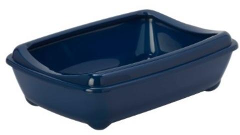 Moderna туалет-лоток Arist-o-tray M c бортом 43x30x12h см, синий