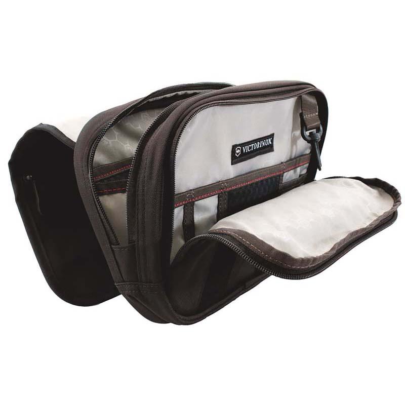 Сумка наплечная Victorinox Commuter Pack горизонтальная, чёрная, 24x7x18 см, 3 л