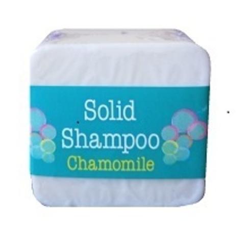 Твердый шампунь для волос с ромашкой Elaia 125 гр
