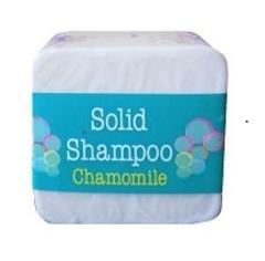 Твердый шампунь для волос с ромашкой Elaia 125 гр.