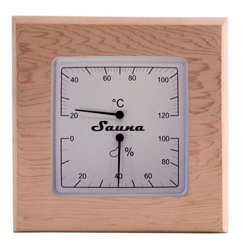 Термометры и гигрометры: Термогигрометр SAWO 225-THD (квадратный) термометры и гигрометры гигрометр sawo 170 hmd