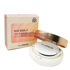 BB-крем The SAEM Eco Soul Spau BB Cushion SPF50 Pa++