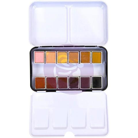 Акварельные краски Prima Watercolor Confections Watercolor Pans -Complexion- 12шт.