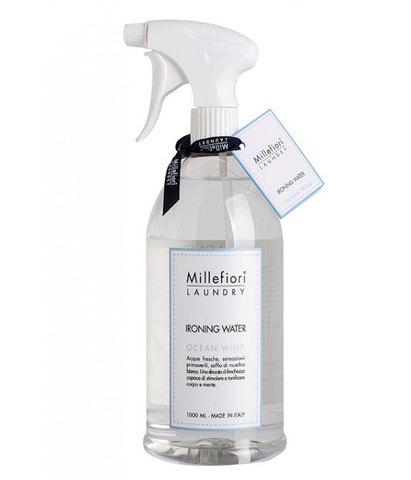 Парфюмированная вода для отглаживания белья Laundry Ветер океана, Millefiori Milano