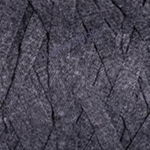Ленточная пряжа YarnArt Ribbon цвет 758 темно-серый