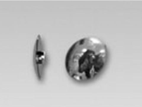 ЗС-1-МТ Заглушка стяжки 12/4мм  хром REALLL