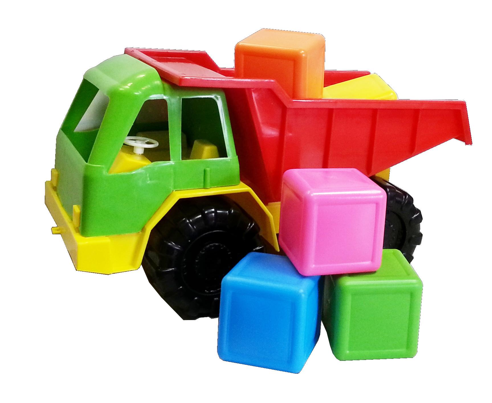 3-282 Грузовик + кубики