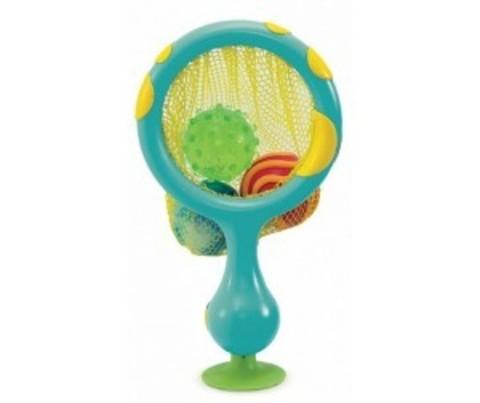 Игрушка для ванны 2 в 1 кольцо с мячиками брызгалками