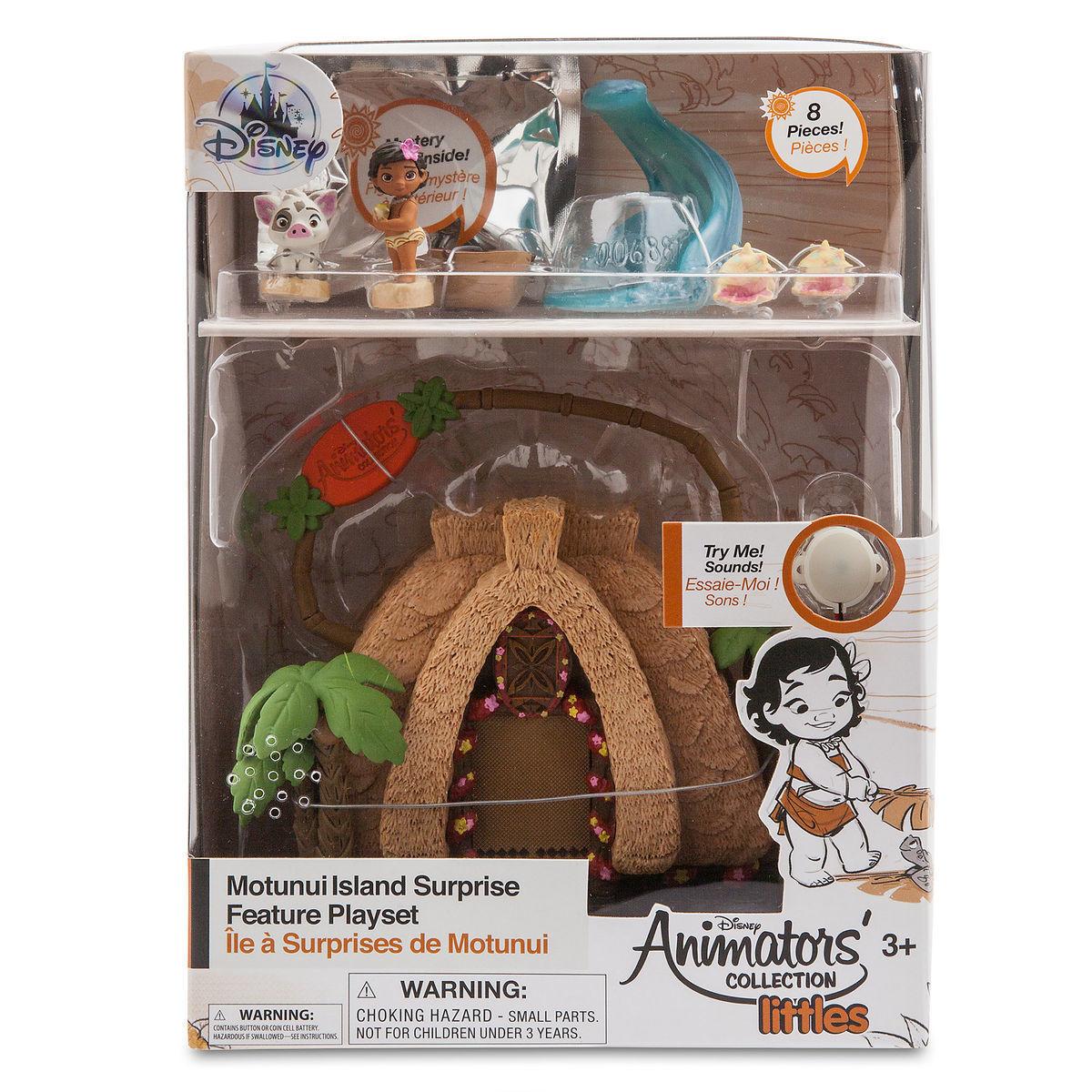 Мини-набор кукол Моана - Disney Animators' Collection