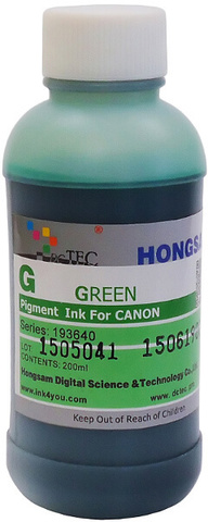 Чернила DCTec PFI-1700G зеленый (green). 200мл пигмент (193540)