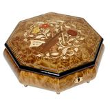Шкатулка для ювелирных украшений музыкальная, арт. AW-02-064 от Artwood, Италия