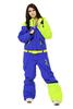 Сноубордический комбинезон Cool Zone салат/синий (2427-2) женский