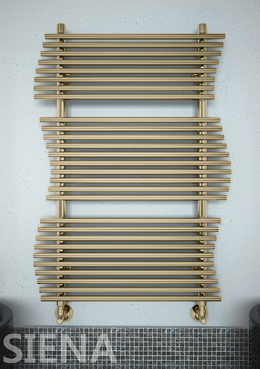 Siena Bronze  - бронзовый  дизайн  полотенцесушитель