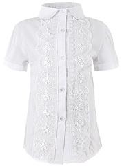 0278 блузка детская, белая