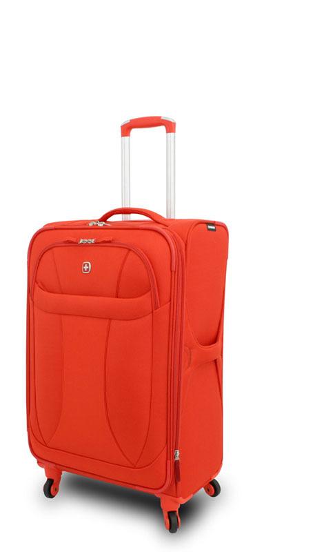 Чемодан Wenger NEO LITE Spinner 24,5'' оранжевый, 47х27x74 см.,  64 л. (72087726).