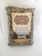 Чай Монастырский №8 очищающий, 100 гр. (Крымский сбор)