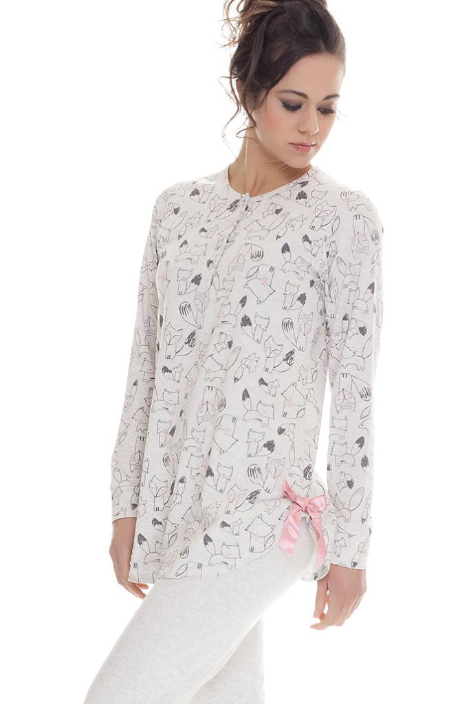 Женская пижама с лисятами DolceVita
