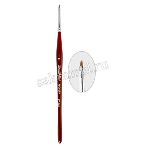 Кисть наклонная Roubloff- DК6-02 (Колонок)