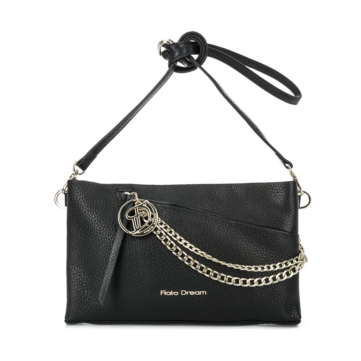 1006 FD кожа /стелла черный  (сумка женская)